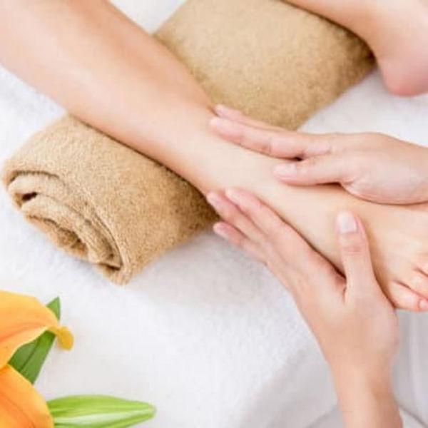 Foot massage with desi ghee benefits