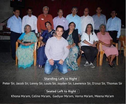 Aamir Khan Teachers Day Post