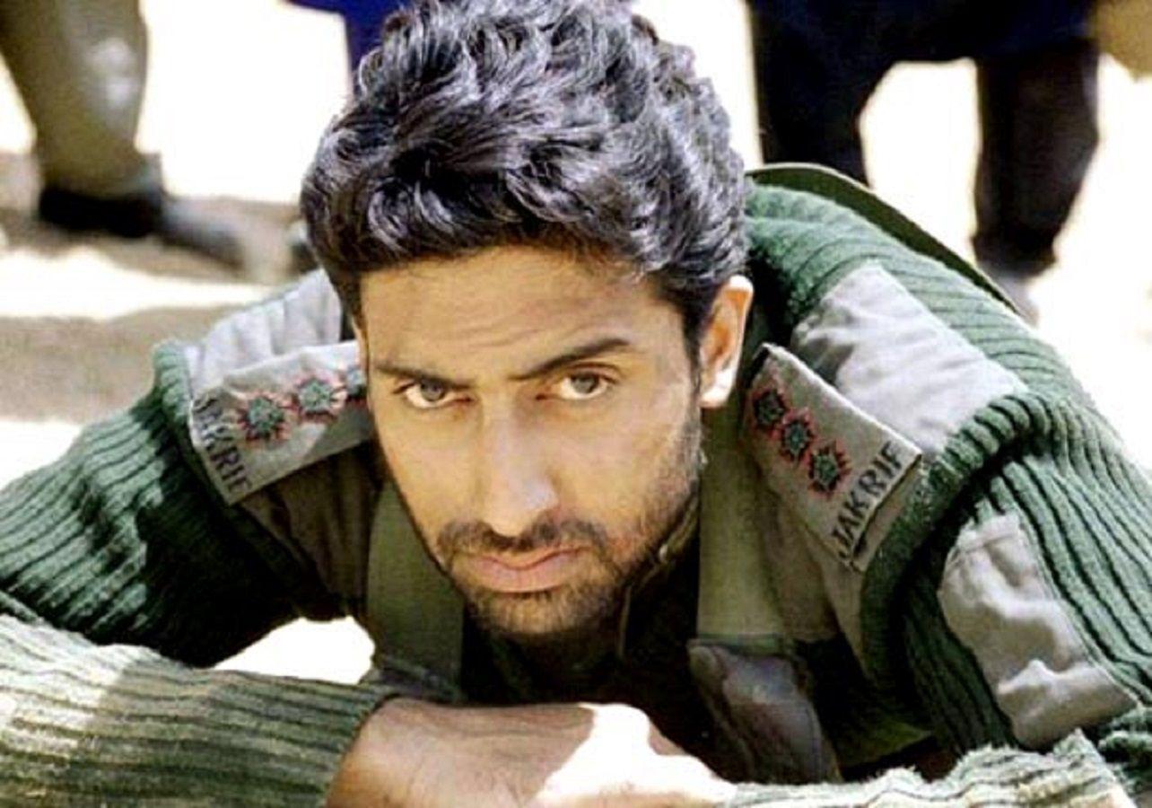 Abhishek Bachchan as captain Vikram Batra