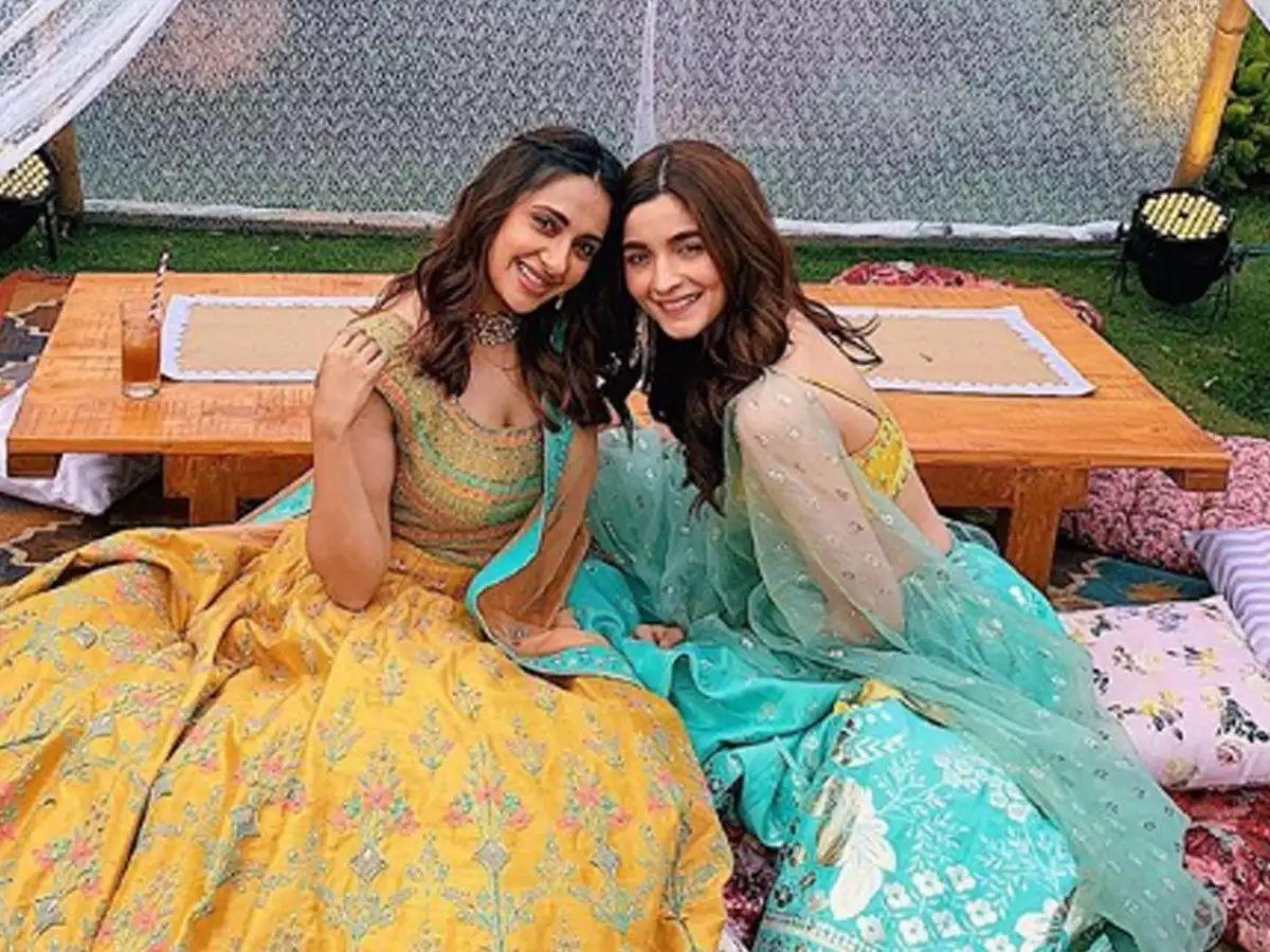 Alia and Akansha