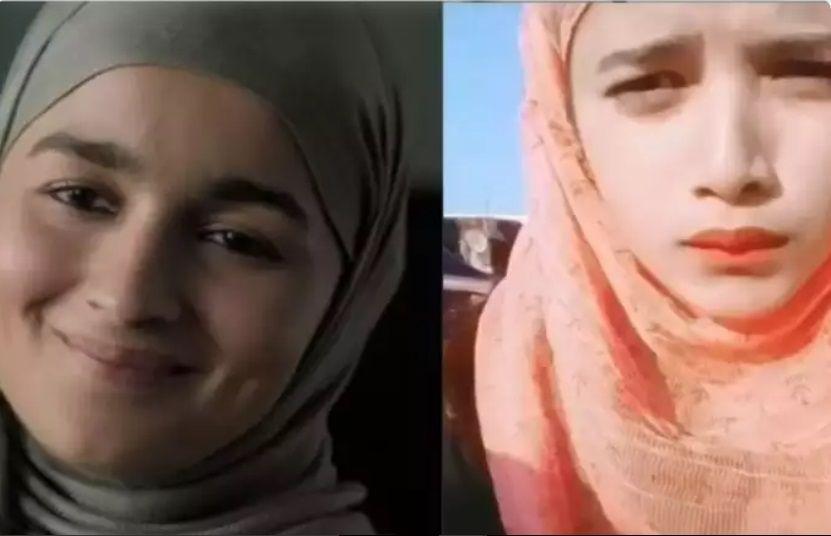 Alia Bhatt duplicate look alike