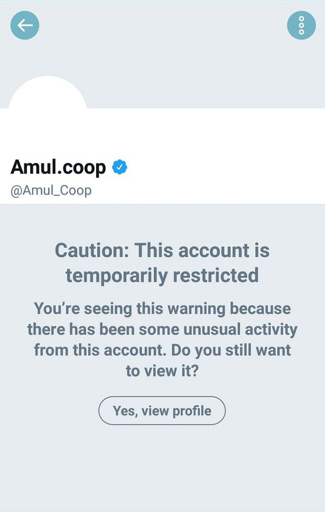 Amul Twitter account