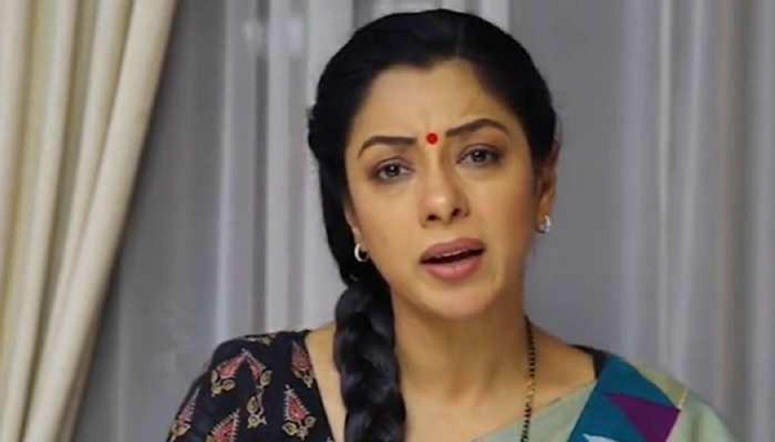 Anupama angry tv show