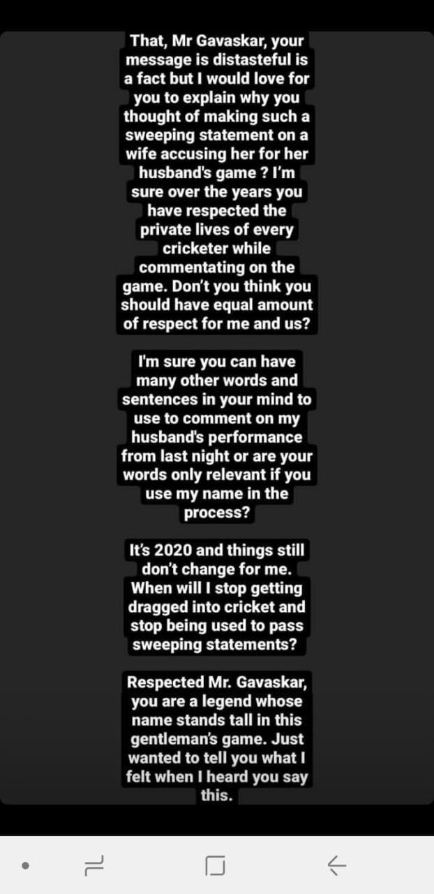 Anushka Sharma instagram story
