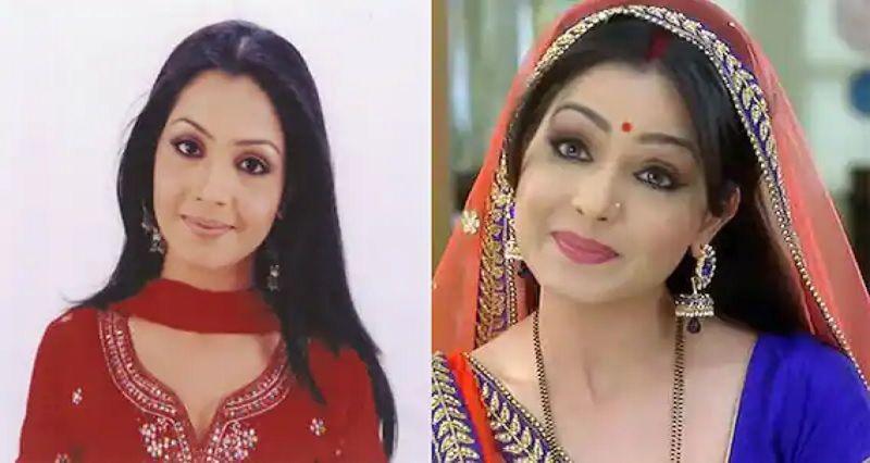 Bhabhi Shubhangi Atre then and now