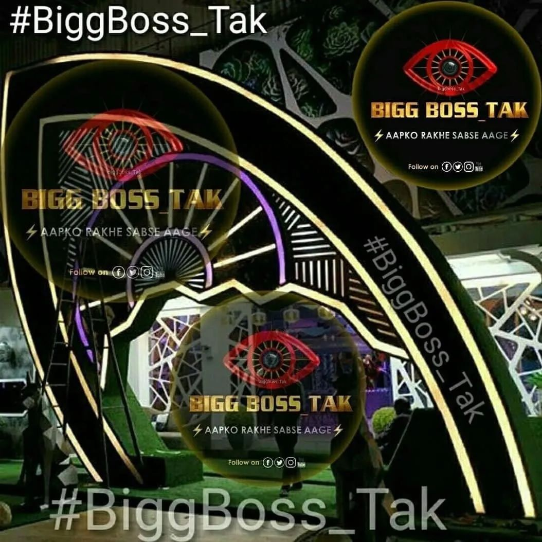Bigg Boss 14 house leaked photos