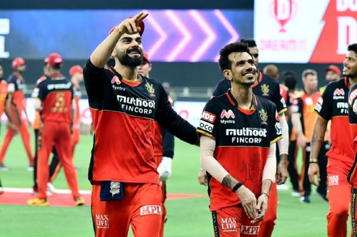 Virat Kohli and Yuzvendra Chahal