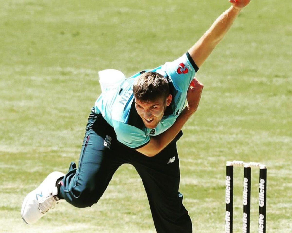 Craig Overton in ODI cricket