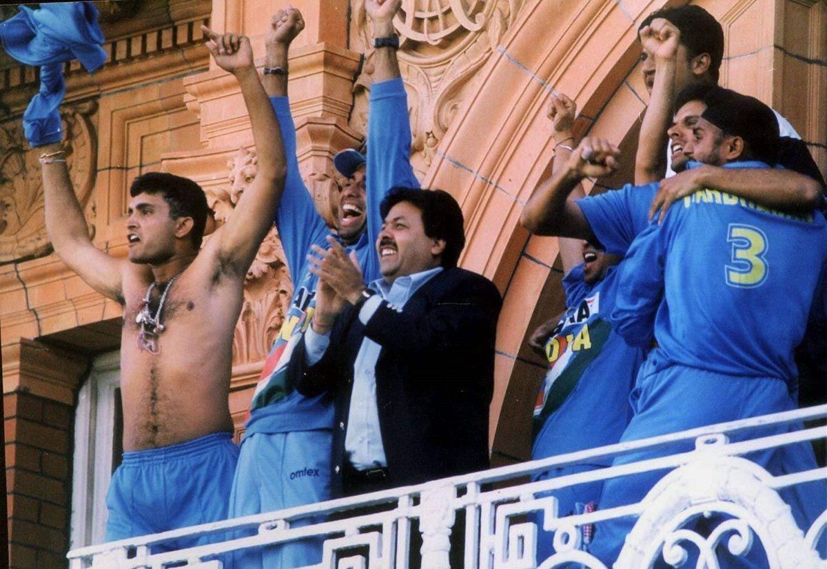 Sourav Ganguly Natvest series 2002 Final