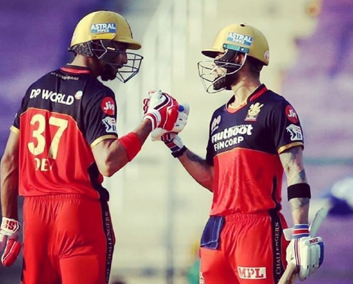 Devdutt Padikkal and Virat Kohli