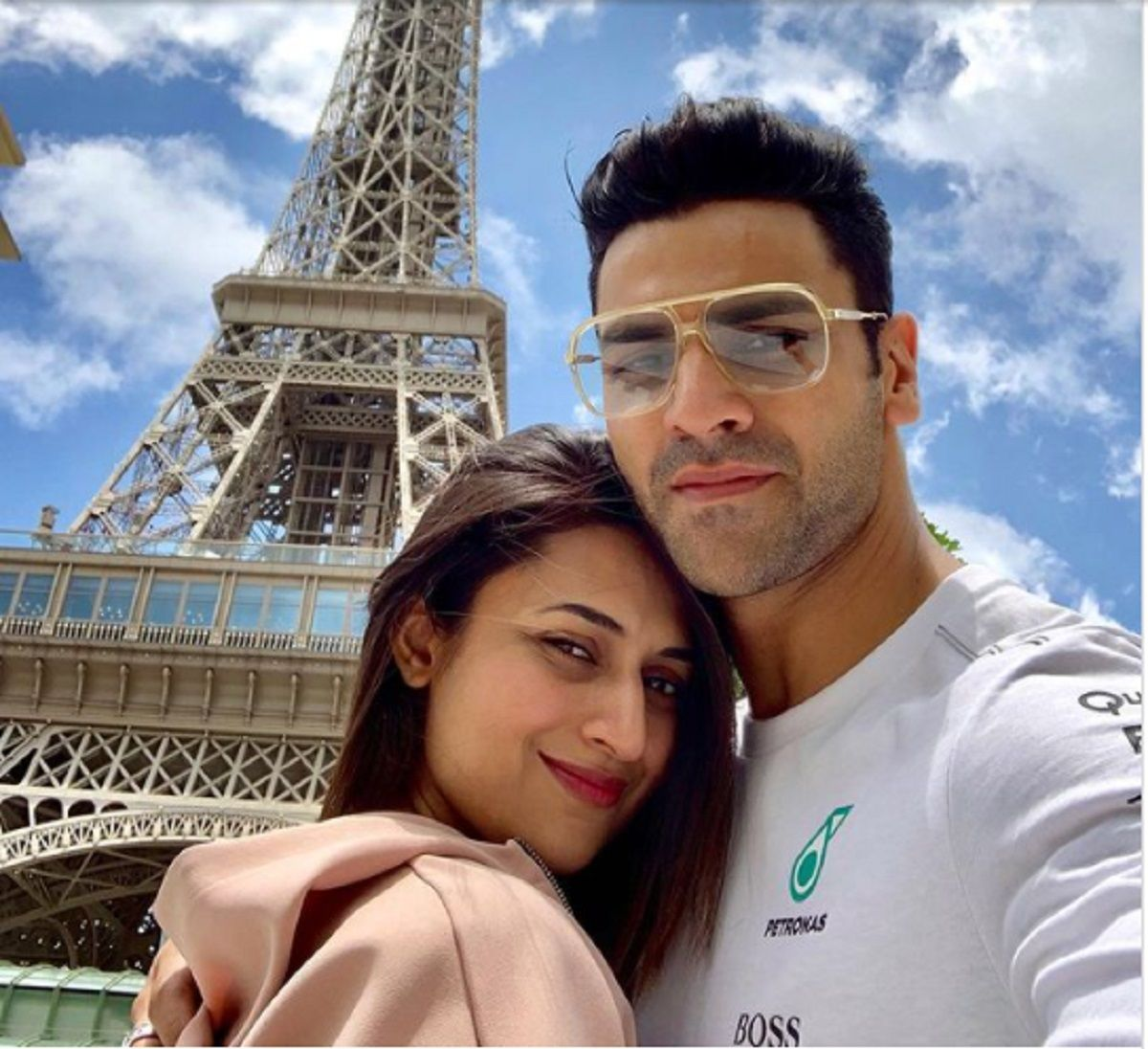 Divyanka Tripathi with husband Vivek Dahiya