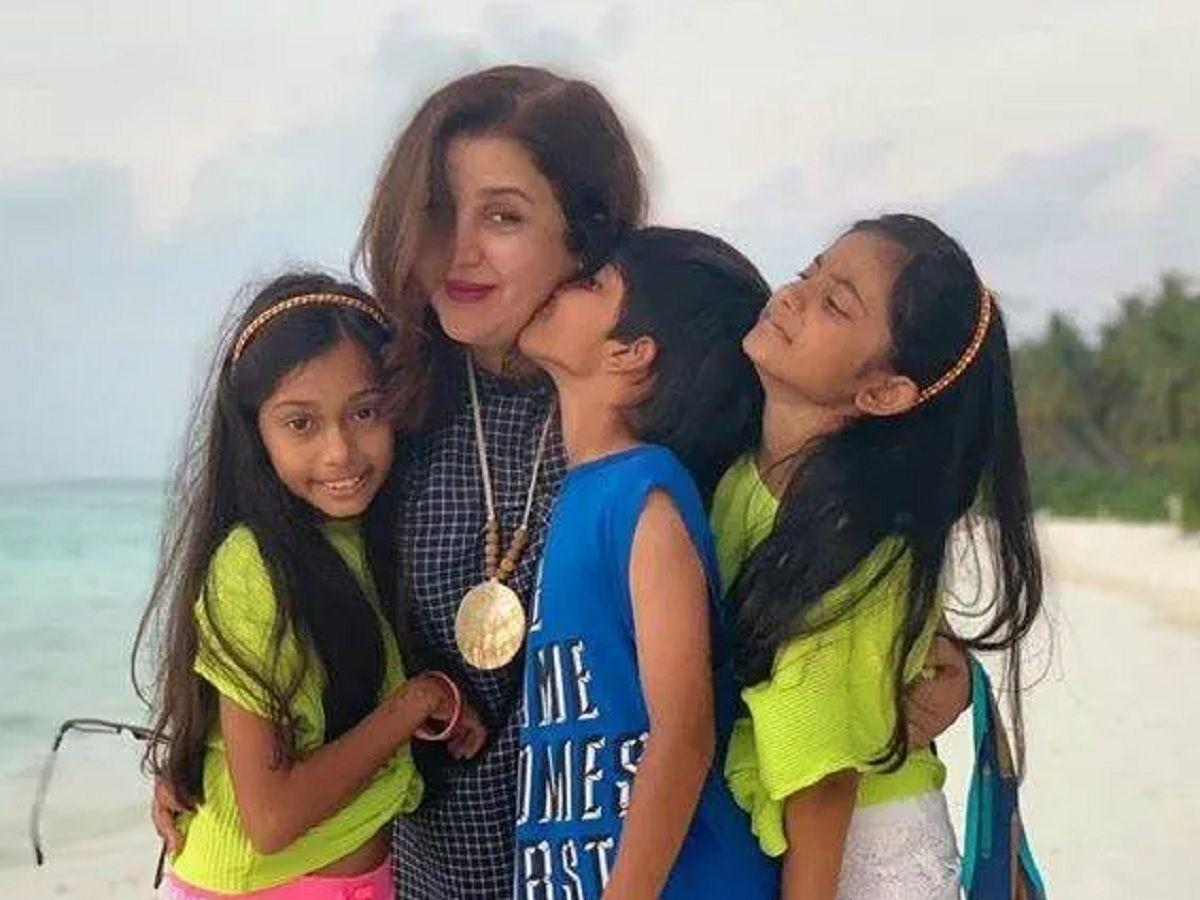 Farah Khan children