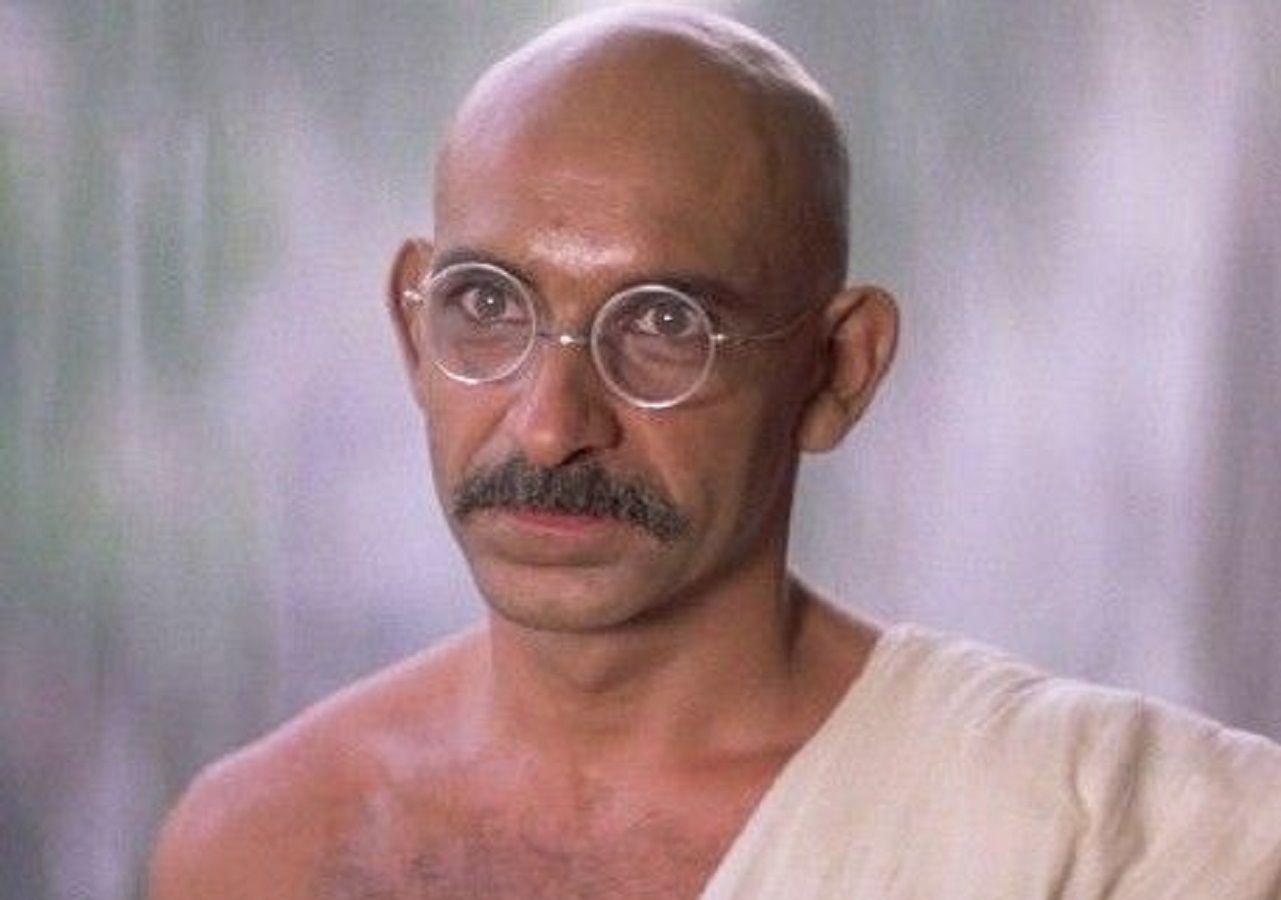 actors names played Mahatma Gandhi in Films