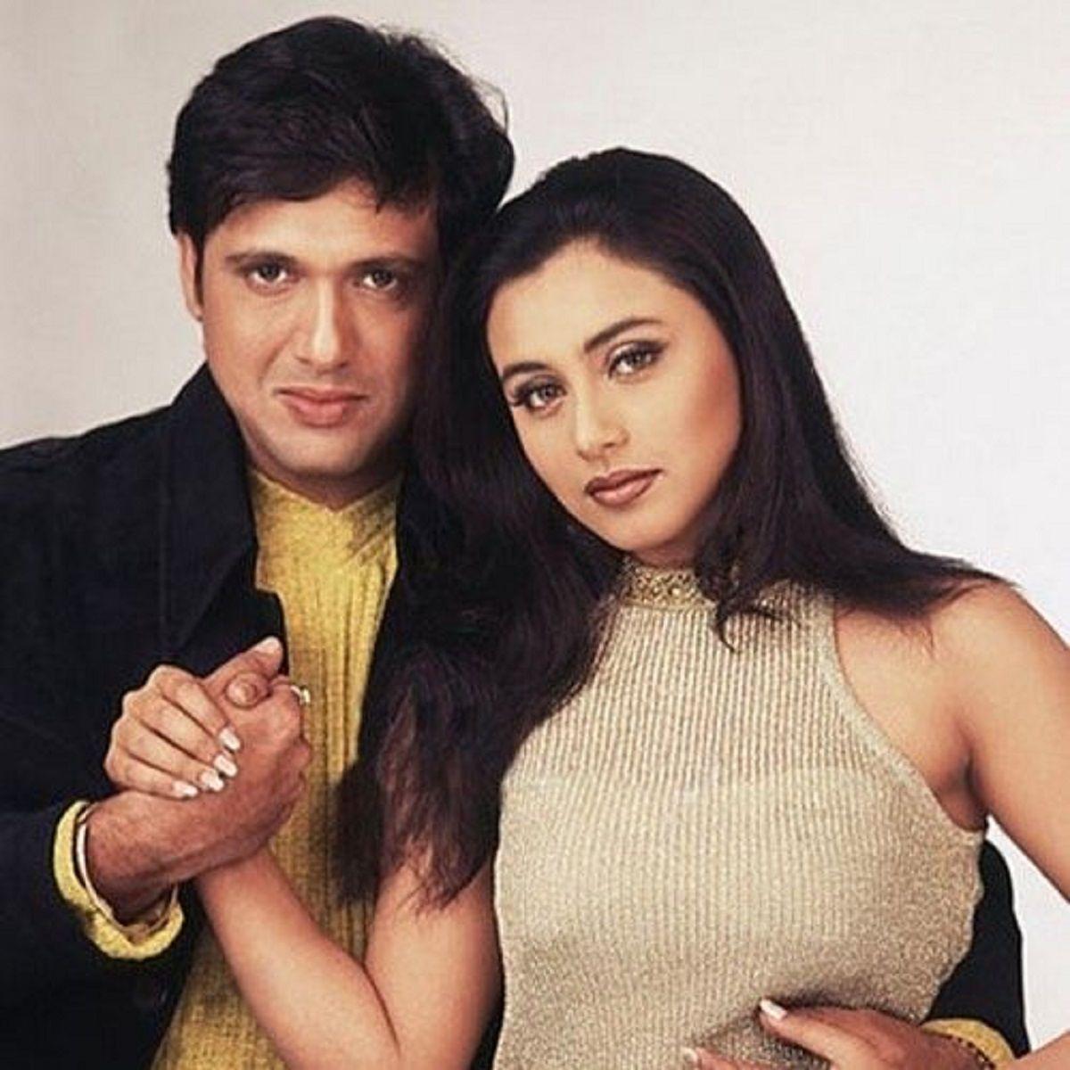 Govinda and Rani Mukerji affair