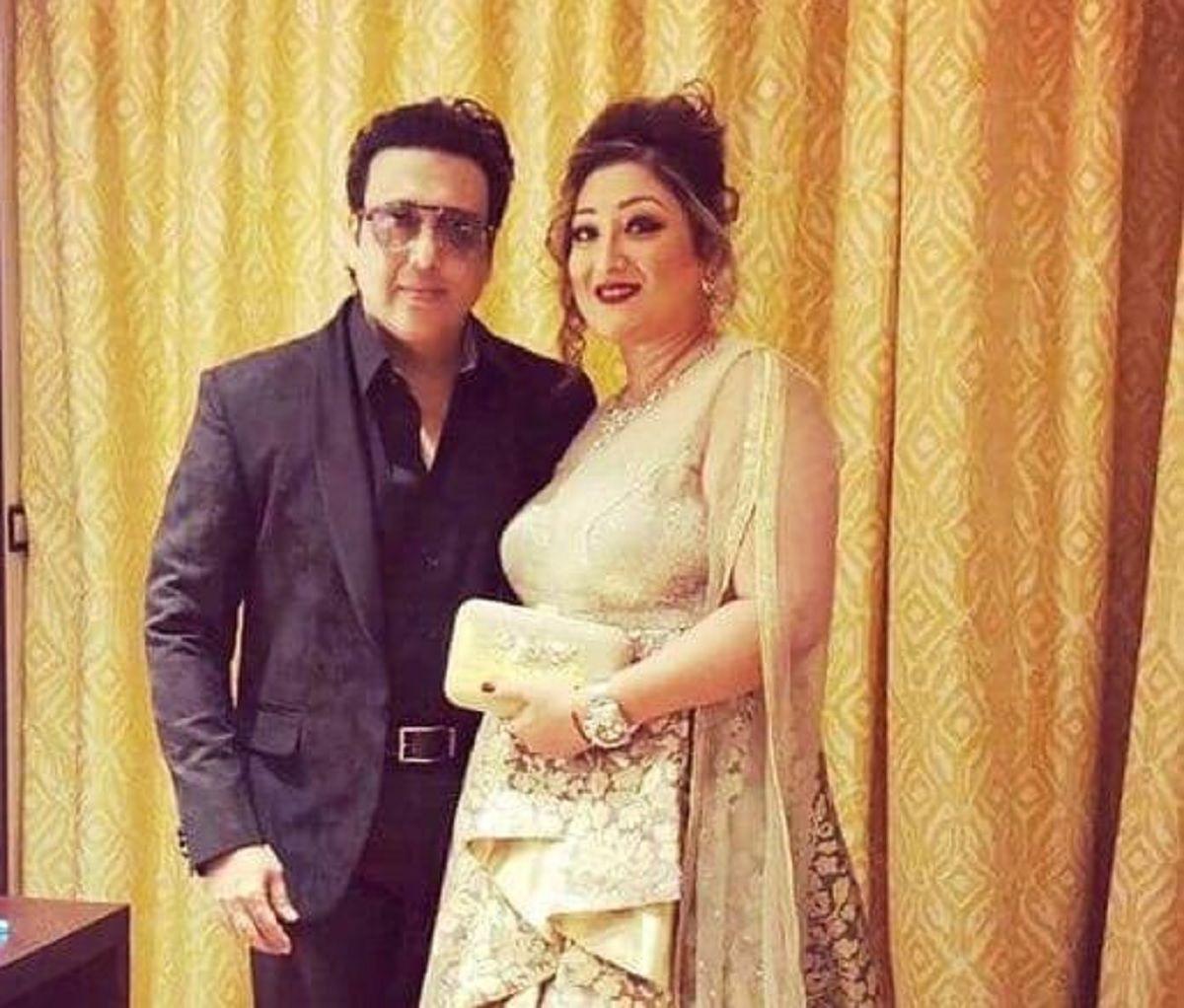 Govinda with Wife Sunita