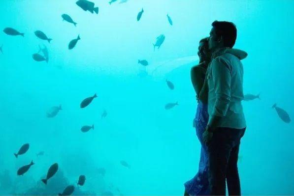 Kajal Aggarwal honeymoon pictures with hubby Gautam Kitchlu