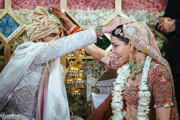 Kajal Agarwal marriage pictures