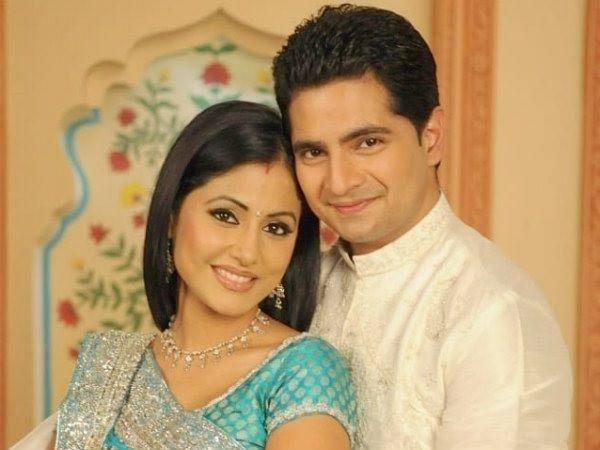 Karan Mehra and hina khan