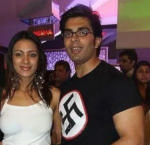Karan Singh Grover and Barkha Bisht