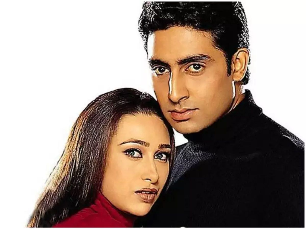 Karishma kapoor and Abhishek bachchan