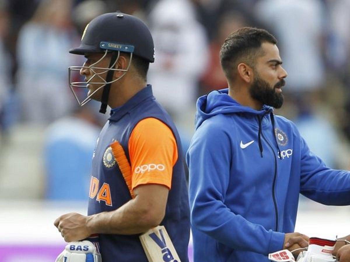 MS Dhoni vs Virat Kohli