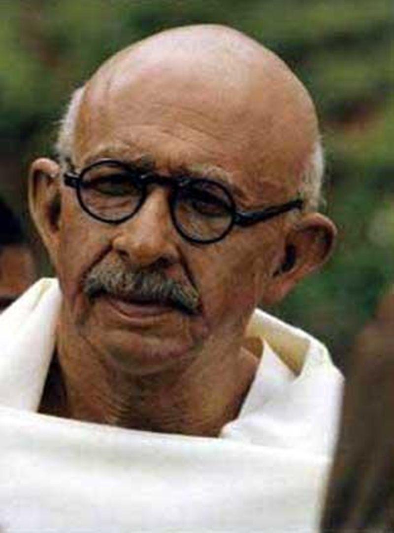 Mahatma Gandhi role Naseeruddin shah