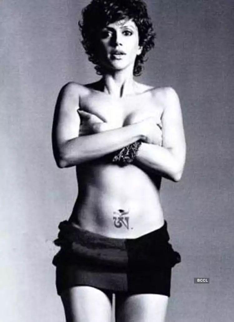 Mandira Bedi nude photoshoot
