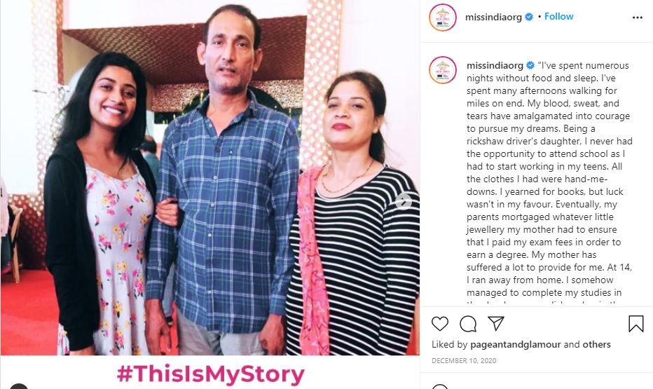 Miss India runner up Manya Singh Social Media