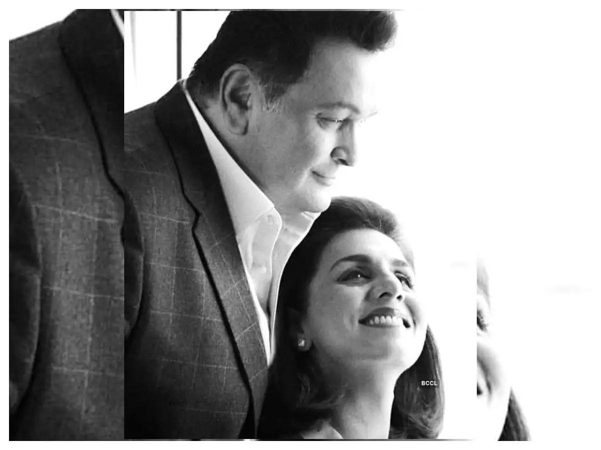 Neetu Kapoor and Rishi Kapoor