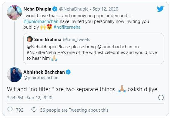 Neha and Abhishek