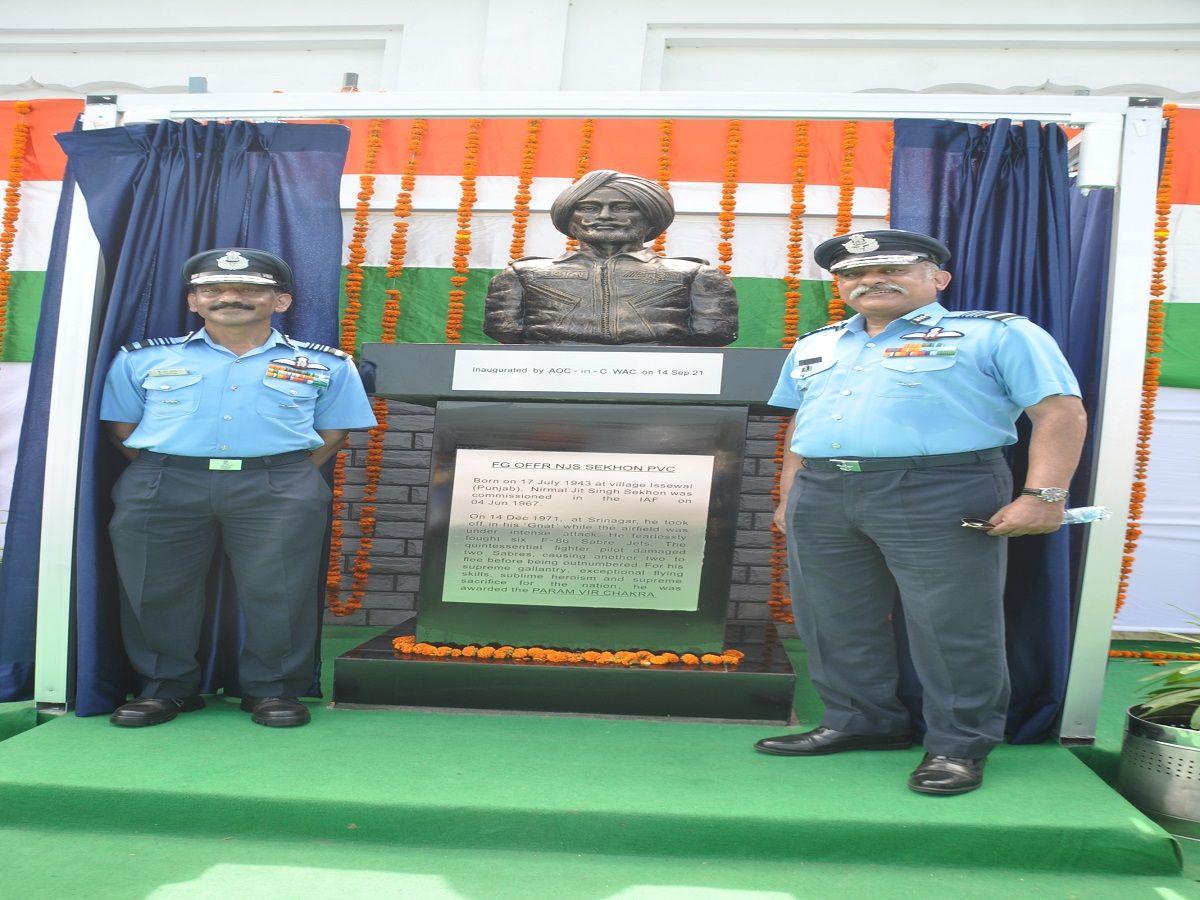 Nirmal Jit Singh Sekhon Village Statue
