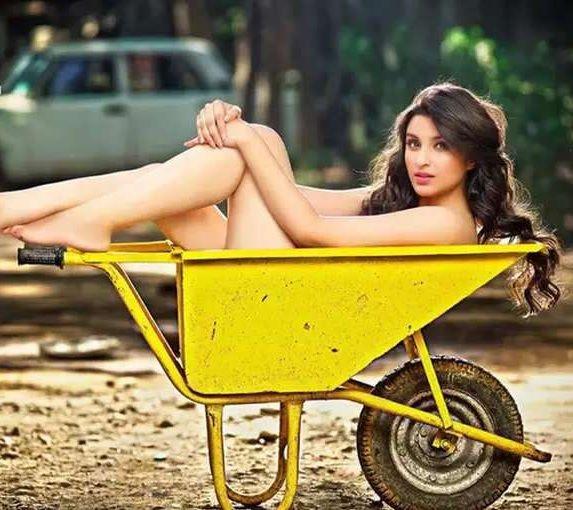 Parineeti chopra Topless photoshoot
