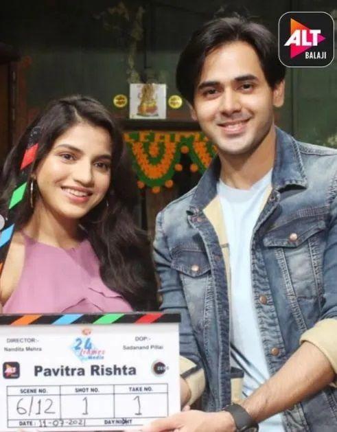 Pavitra Rishta 2 Shoot pics
