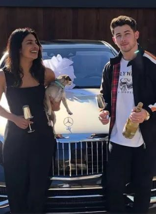 Priyanka Nick Jonas gift