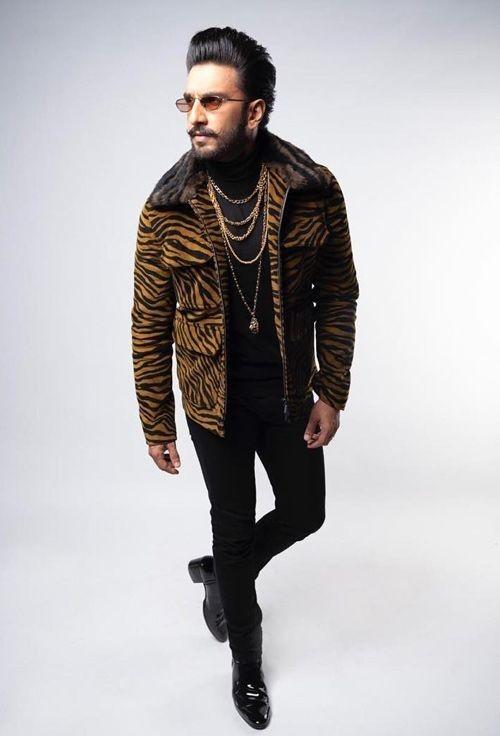 Ranveer Singh Tiger Jacket