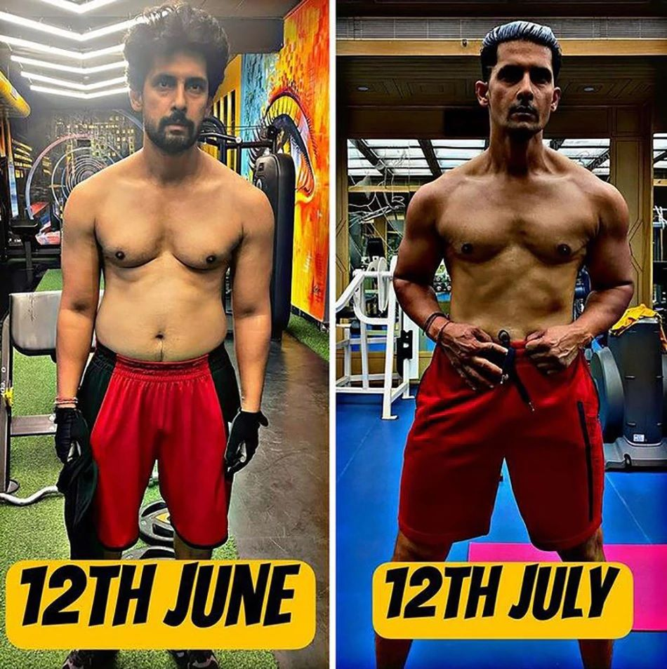 Ravi Debey Transformation in one month