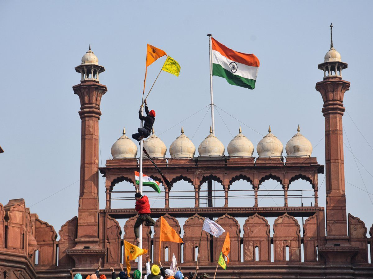 Red Fort Farmers Protest