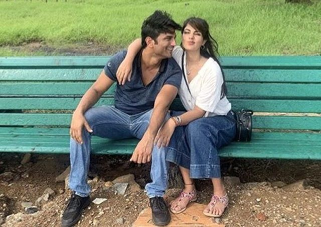 Rhea Chakraborty and Sushant Singh