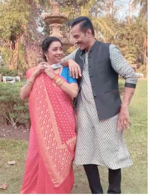 Rupali Ganguly and Sudhanshu Pandey hilarious video Anupama