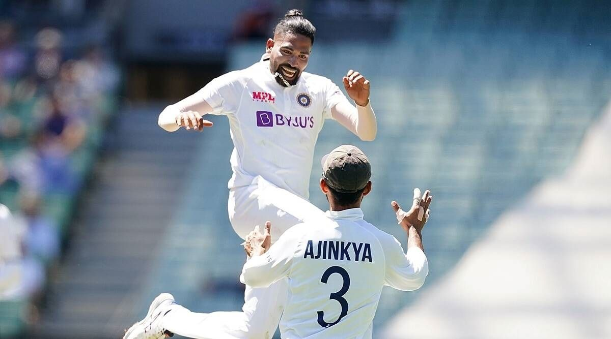 Mohammed Siraj Test cricket