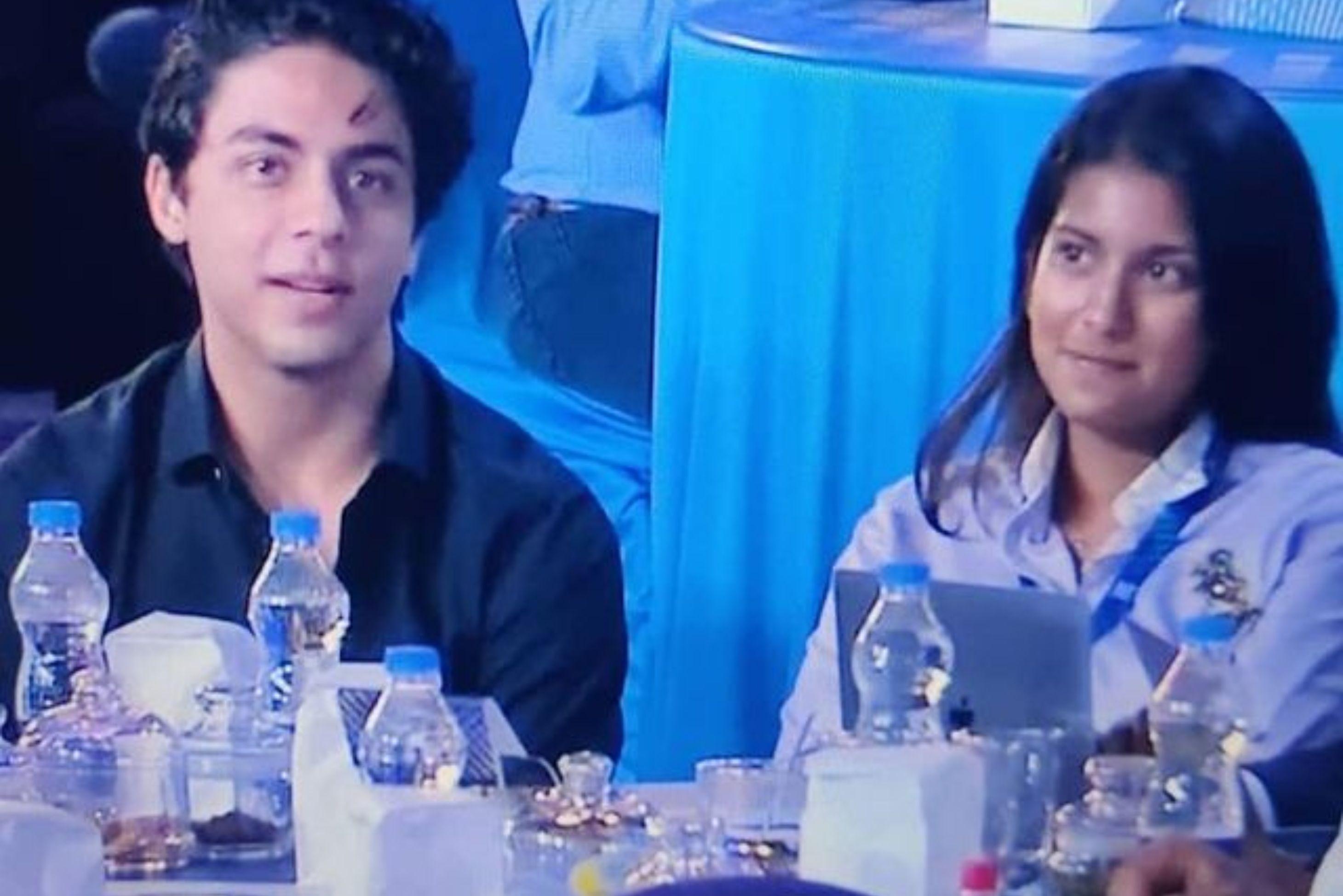 SRk Son Aryan and Juhi Chawla Daughter