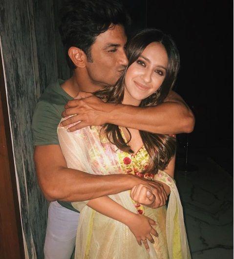 SSR with Alia Bhatt Friend
