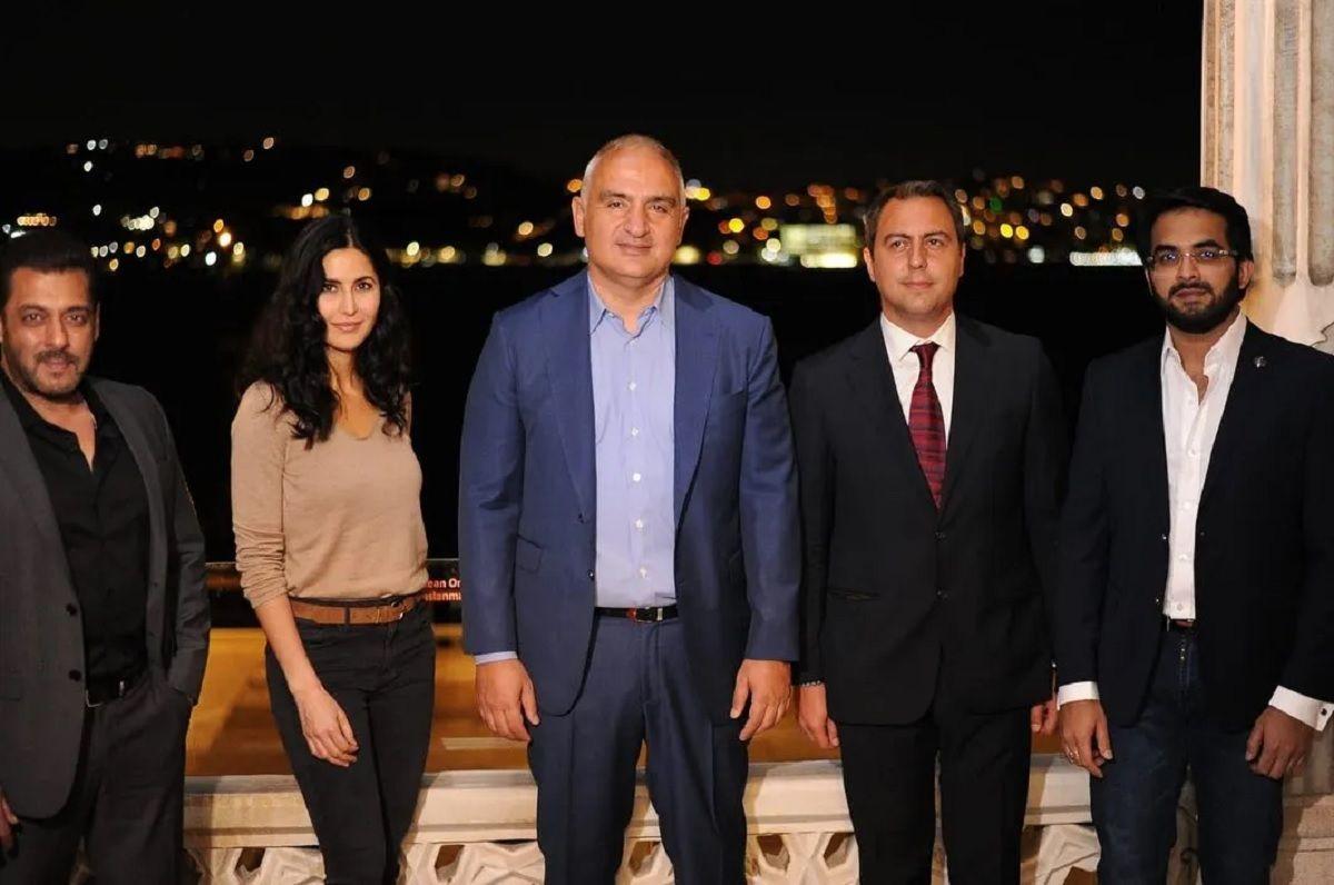 Salman Khan and Katrina meet Turkish minister