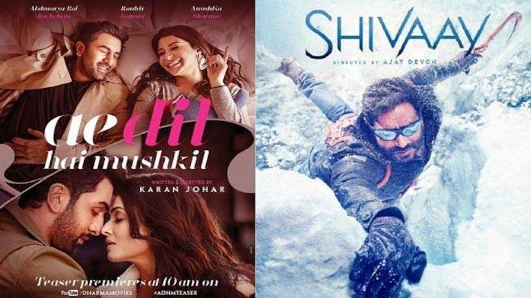 Shivaay vs Ae Dil hai Mushkil