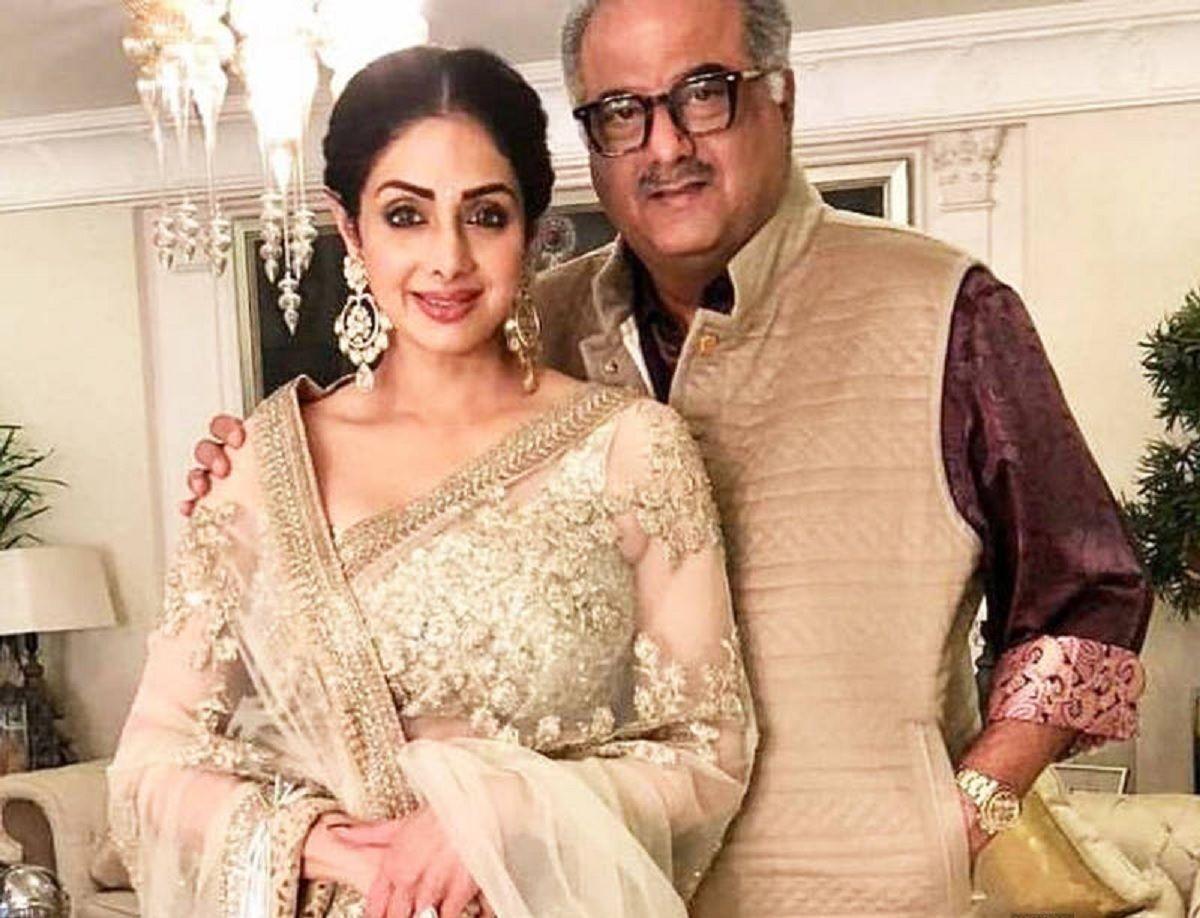 Sridevi and Boney Kapoor