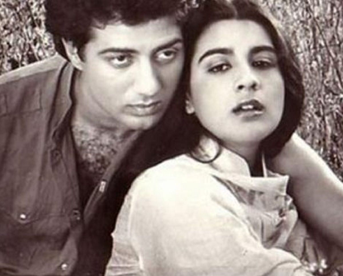 Sunny Deol and Amrita Singh story