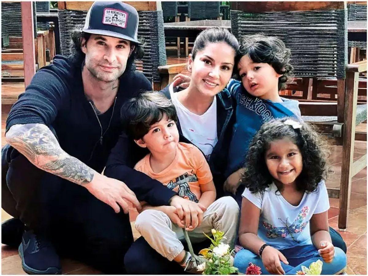 Sunny Leone Family photo