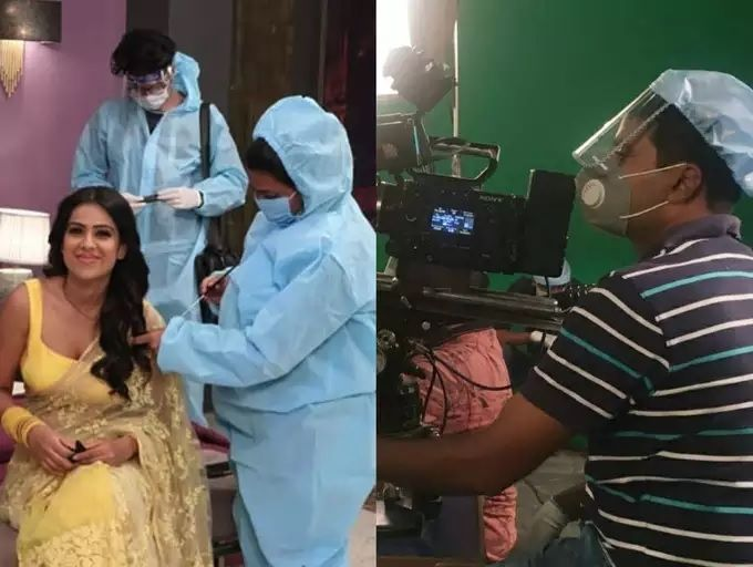 TV Shows shooting in Pandemic Times