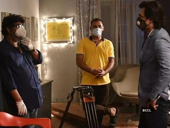 TV Shows shooting in corona pandemic