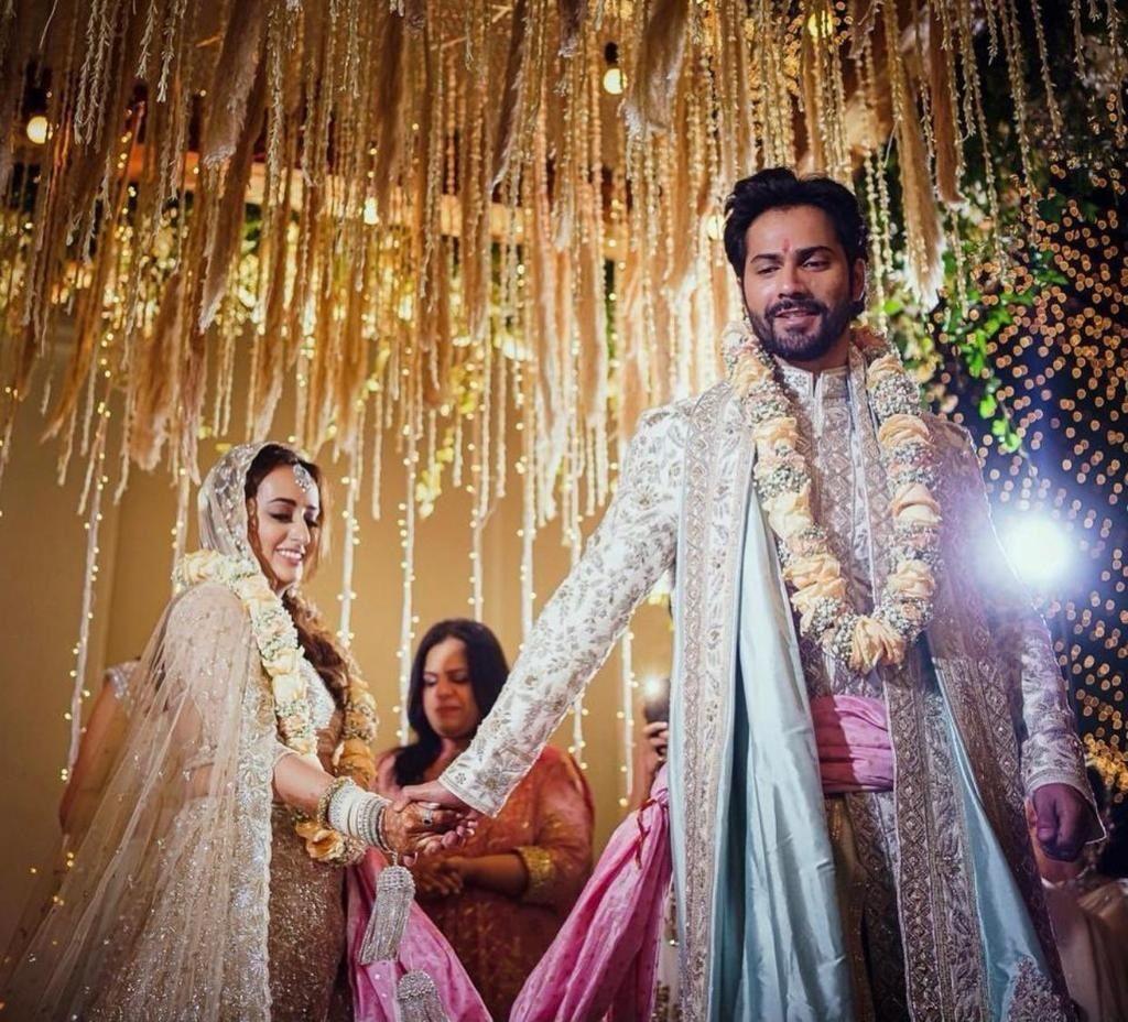 Varun Dhavan Natasha Dalal Wedding photos